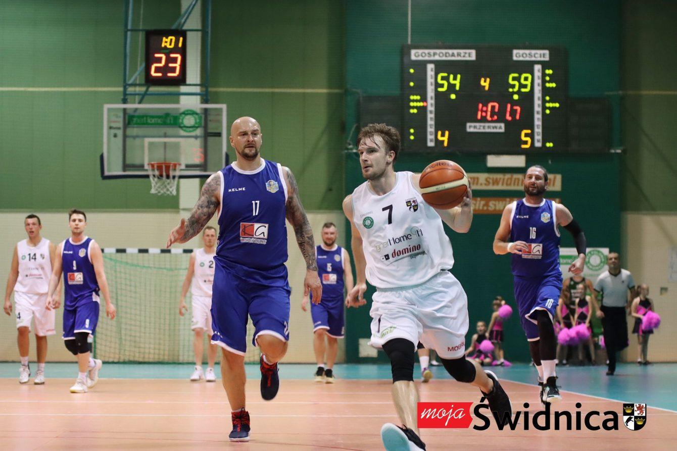 Przegrana z Basket Legnica